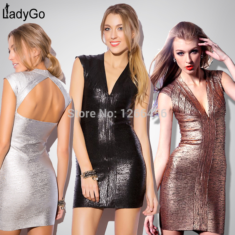 Aliexpress.com : Buy LADY GO 2014 Luxury Kim Kardashian Beading Wedding Dress crystal short evening dress H313 White Black Long Sleeve bandage dress from Reliable dress materal suppliers on Lady Go Fashion Shop