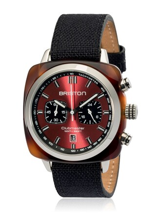 watch black red jewels
