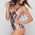 ACACIA Swimwear Ipanema One Piece in Black Elephant | ISHINE365