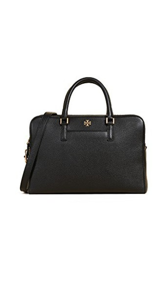 Tory Burch satchel zip black bag