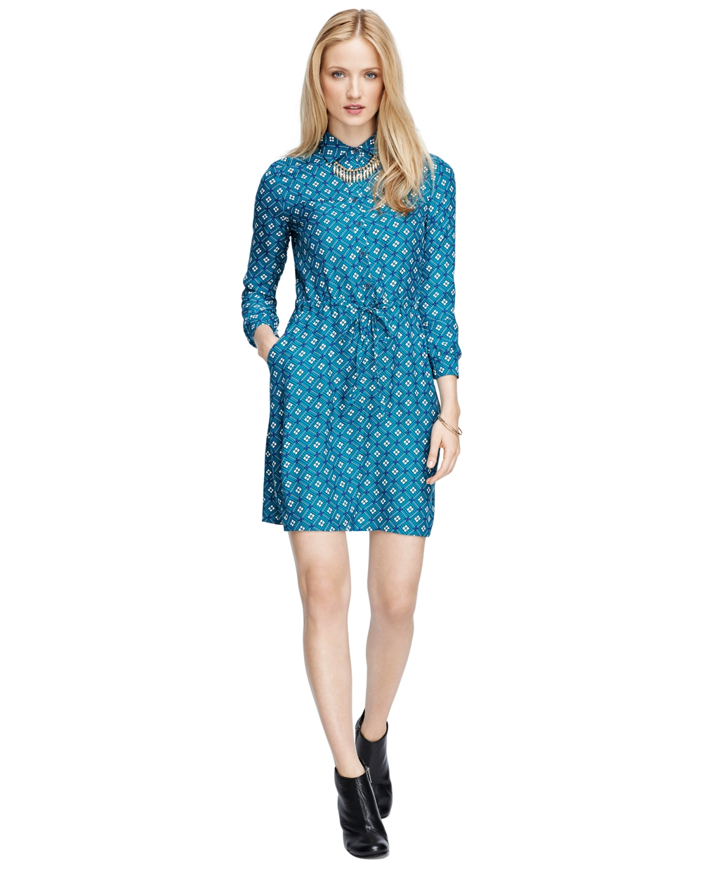 Silk Dress - Brooks Brothers