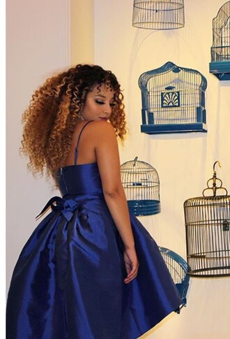 dress royal blue jadah doll hairstyles celebrity midi dress wedding guest blue dress party dress