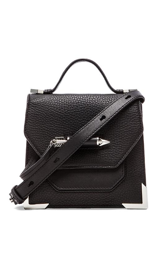 Mackage rubie satchel in black from revolveclothing.com