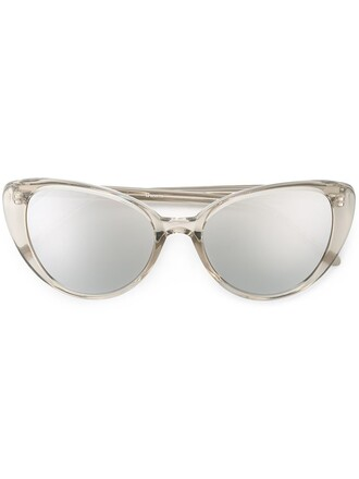 women plastic sunglasses nude