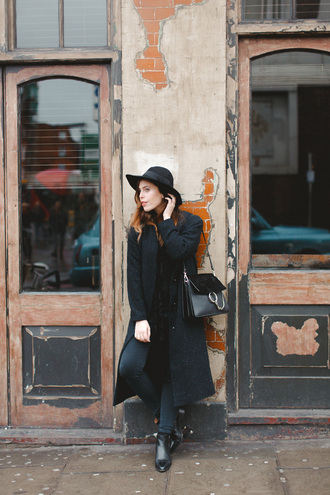 wish wish wish blogger coat shirt jeans shoes hat bag