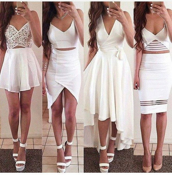 Two Piece Party Dresses