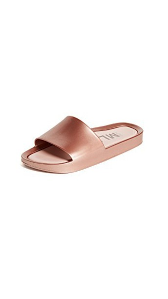 Melissa beach sandals rose gold rose gold shoes