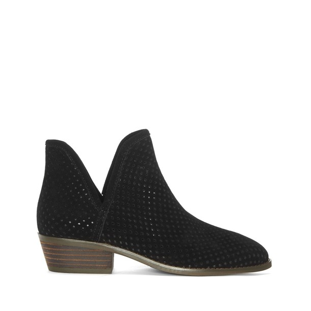 Lucky Brand Kambry Perforated Bootie - Black-6