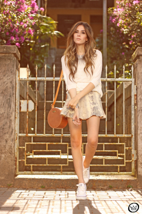 fashion coolture top skirt bag jewels shoes