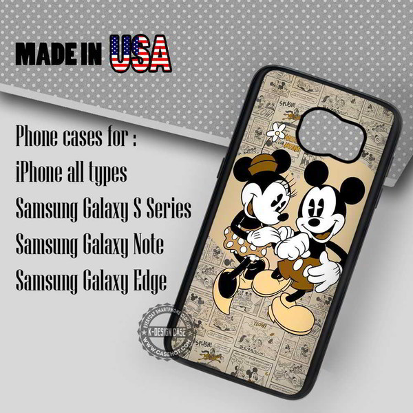 phone cover mouse vintage comic