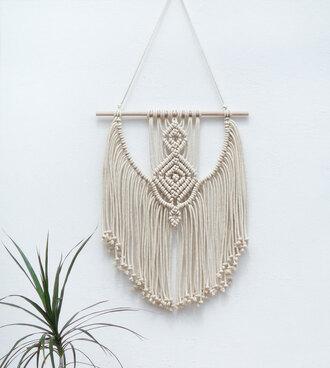 home accessory etsy moxmacrame macrame boho boho chic boho decor gift ideas beach house wall decor braided