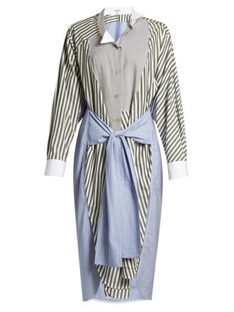 shirtdress white dress
