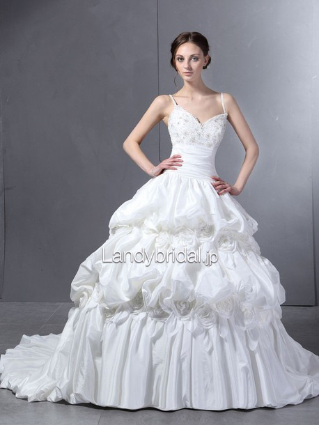 dress ピックアップ ウェディングドレス ストラップ