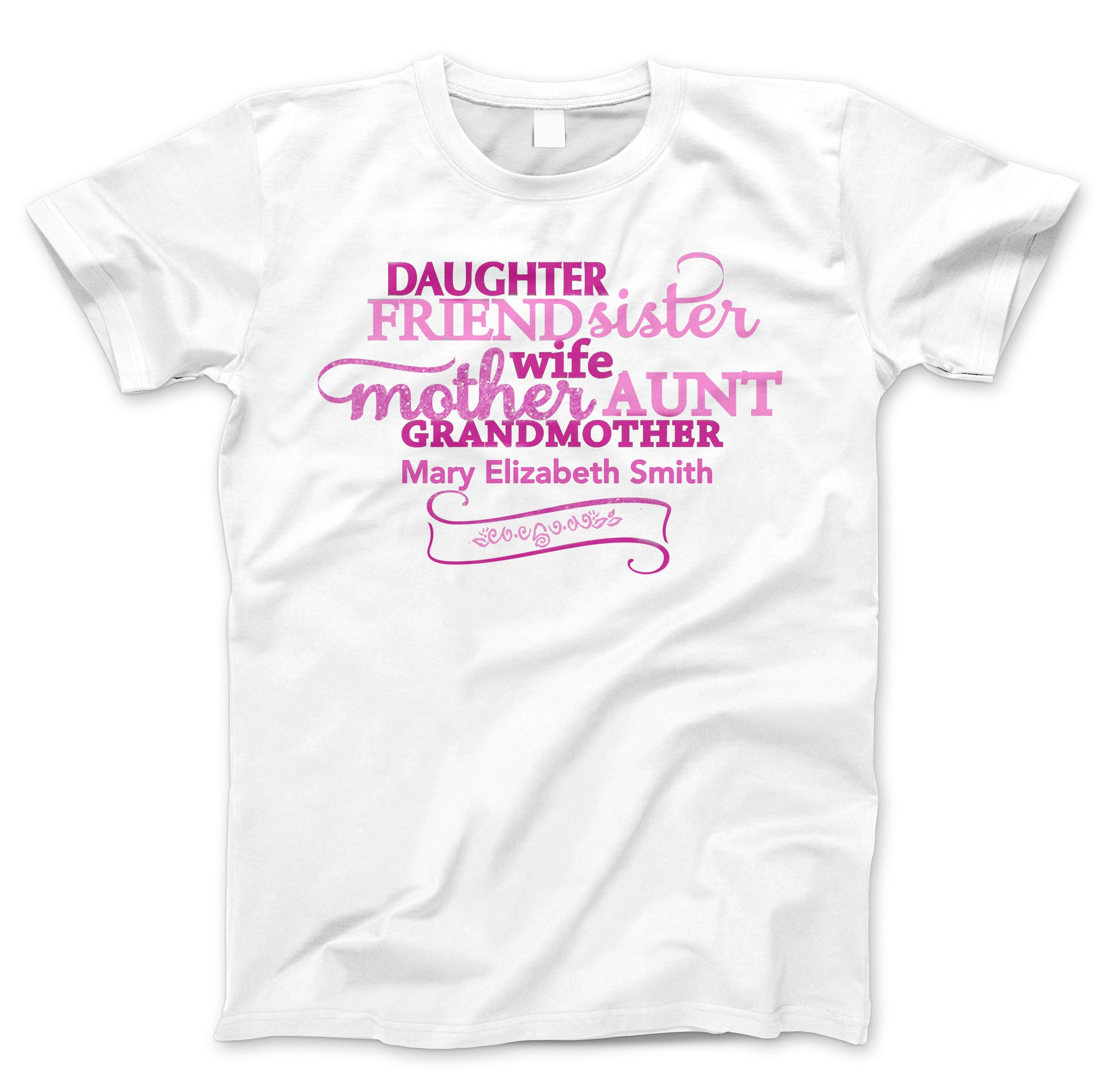 Daughter Sister Mother Grandmother In Loving Memory TShirt ...