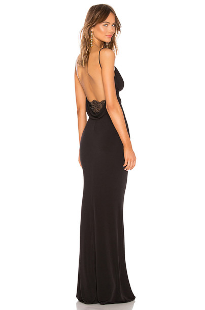Katie May Surreal Gown in black