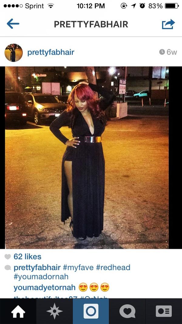 black dress sexy dress long dress long sleeve dress slit dress