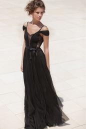 dress,prom,boho,chiffon,maxi dress,boho prom,bohemian,lace,mira zwillinger,prom dress,black prom dress,little black dress,black dress,peekaboo,lace dress,formal gown,bohemian dress