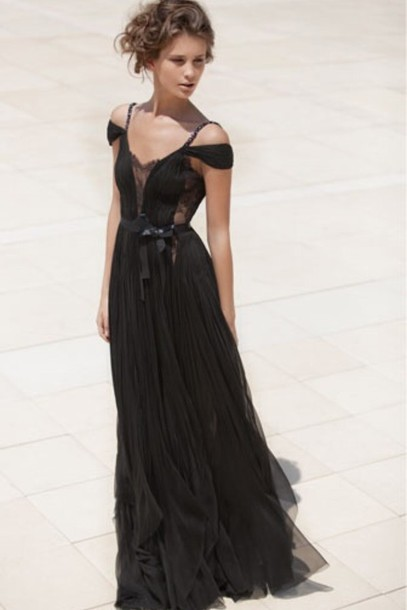 dress prom boho chiffon maxi dress boho prom bohemian lace mira zwillinger prom dress black prom dress little black dress black dress peekaboo lace dress formal gown bohemian dress