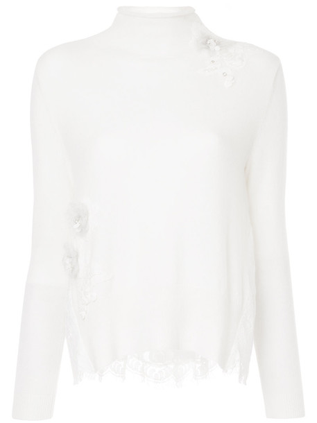 Onefifteen sweater women lace white