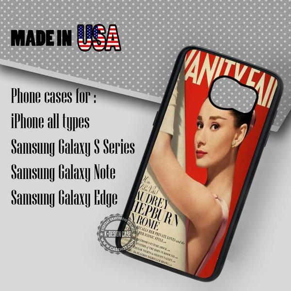 Samsung S7 Case - Magz Audrey Hepburn- iPhone Case #SamsungS7Case #adh #yn