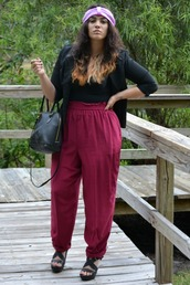 pants,burgundy,high waisted,stretch,strech pants,magenta