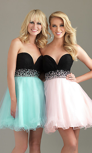 Short party dress, night moves homecoming dress