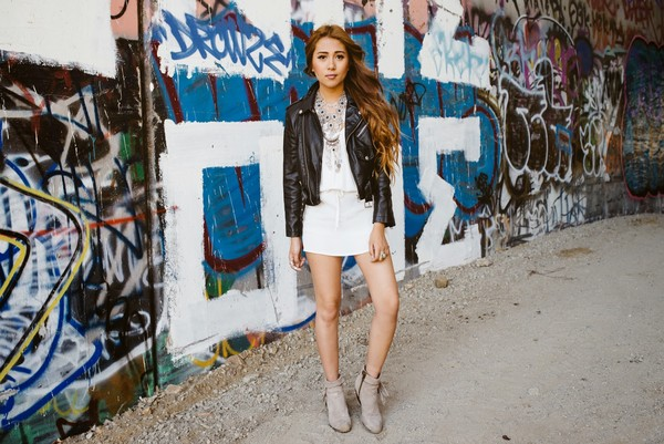 the river wolf dress jewels shoes jacket