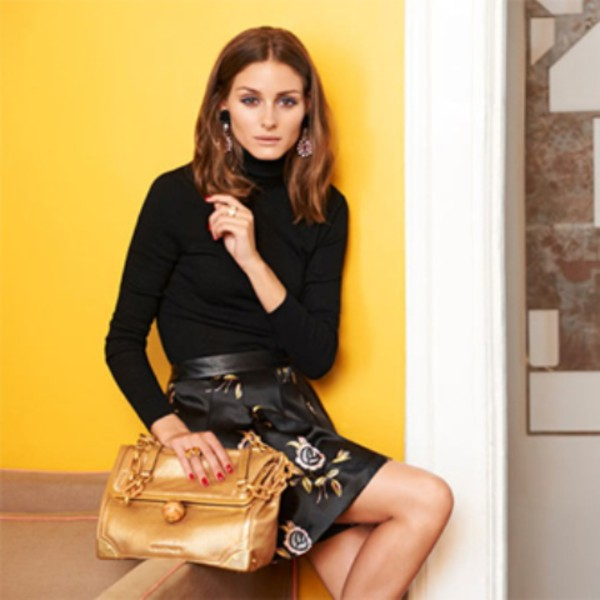 skirt olivia palermo shirt jewels