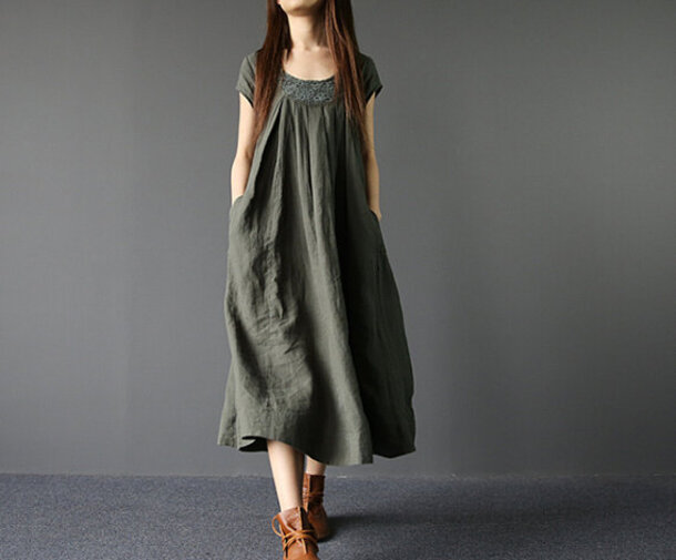 dress sundress long maxi dress