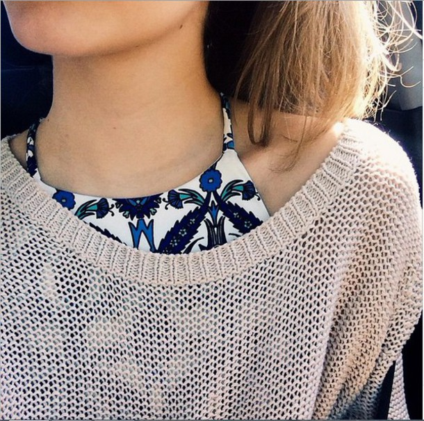 top crop tops summer sweater knit crop crop tops knitwear knitted cardigan knitted sweater crop tops halter top halter neck pattern floral