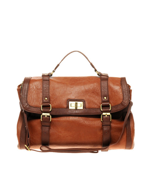 brown bag old school bag