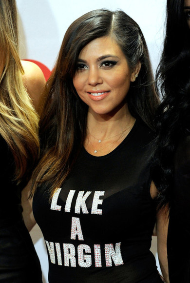 kourtney kardashian black shirt shirts like a virgin