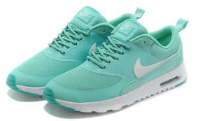 Nike air max thea woven womens mint green white by country fashion
