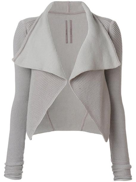 cardigan cardigan open women grey sweater