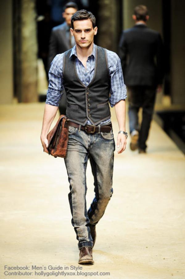 coat menswear vest waistcoat pants shirt jacket