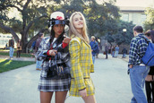 skirt,tartan,jacket,top,everything,clueless