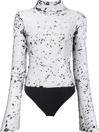 bodysuit women spandex white underwear