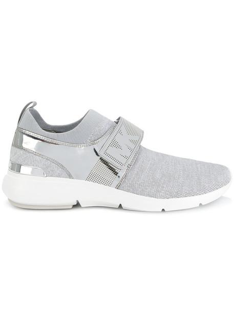 MICHAEL Michael Kors metal women plastic sneakers grey shoes