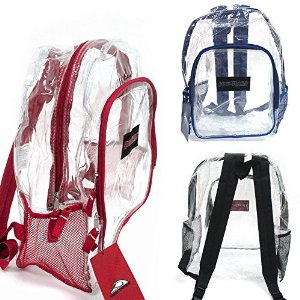 Amazon.com: Clear Backpack PVC 17