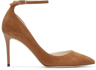 tan heels suede shoes