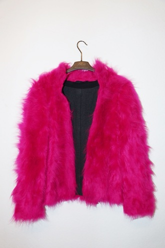jacket pink fur fur coat faux fur jacket fur jacket sweater black dress black maximilian seitz maximilianseitz