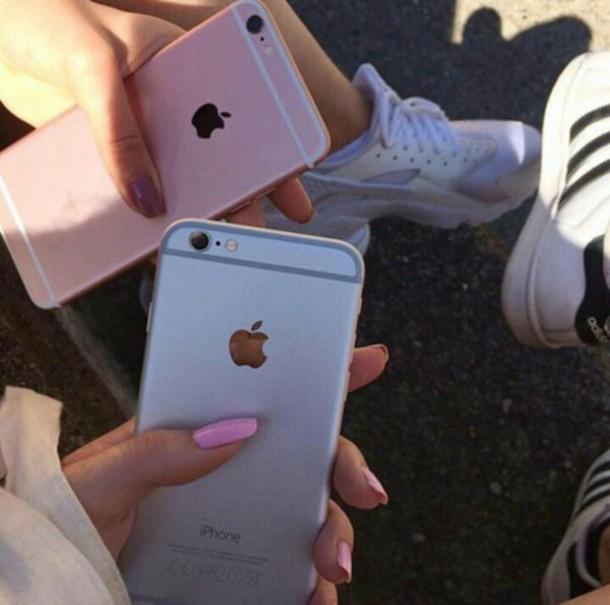 shoes iphone pink white nike adidas air huarache superstar black