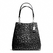 Coach :: MADISON NORTH/SOUTH TOTE IN CHENILLE OCELOT