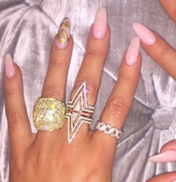 jewels, nail polish, khloe kardashian, jewelry, bling, ring, khloe ...