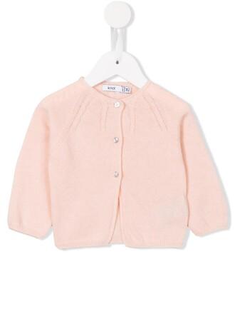 cardigan girl knit purple pink sweater