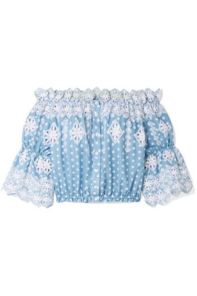 top light cotton blue light blue