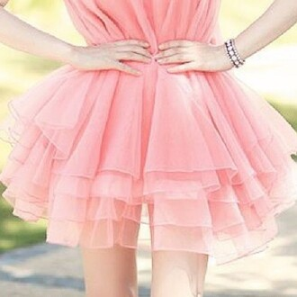 dress mini dress pink pink dress pink mini dress cute girly style kawaii kawaii dress summer jewels silver