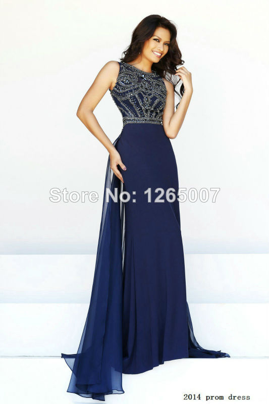Aliexpress.com : buy new arrival round neck heavy beaded crystal diamond top chiffon fashion a line summer prom dresses pargent fashion gowns from reliable dress shirts for slim men suppliers on sfbridal