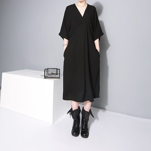 Dress Marigold Shadows Dress Black Womens Dress Black Dress