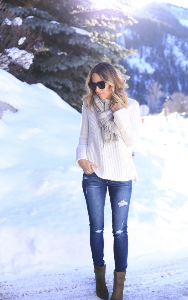 damsel in dior jeans sweater shoes